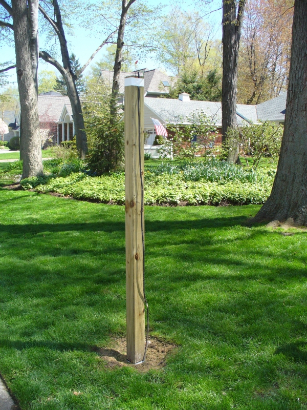 Installing a Lantern Post Sleeve