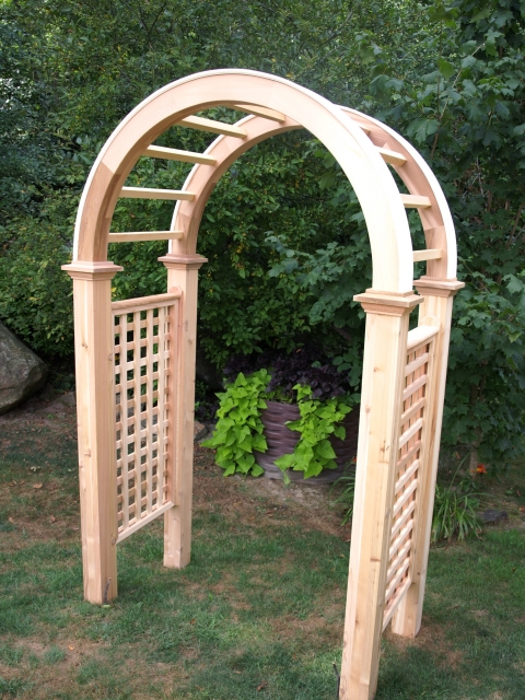 Azek Hybrid Roof Trim Option For Wooden Cedar Garden