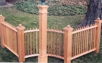 Brentwood Wooden Fence System