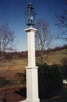 New Bold 6x6x8' Lantern Post