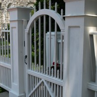 Wooden Arbors And Arbor Gates Custom Made Out Of Western