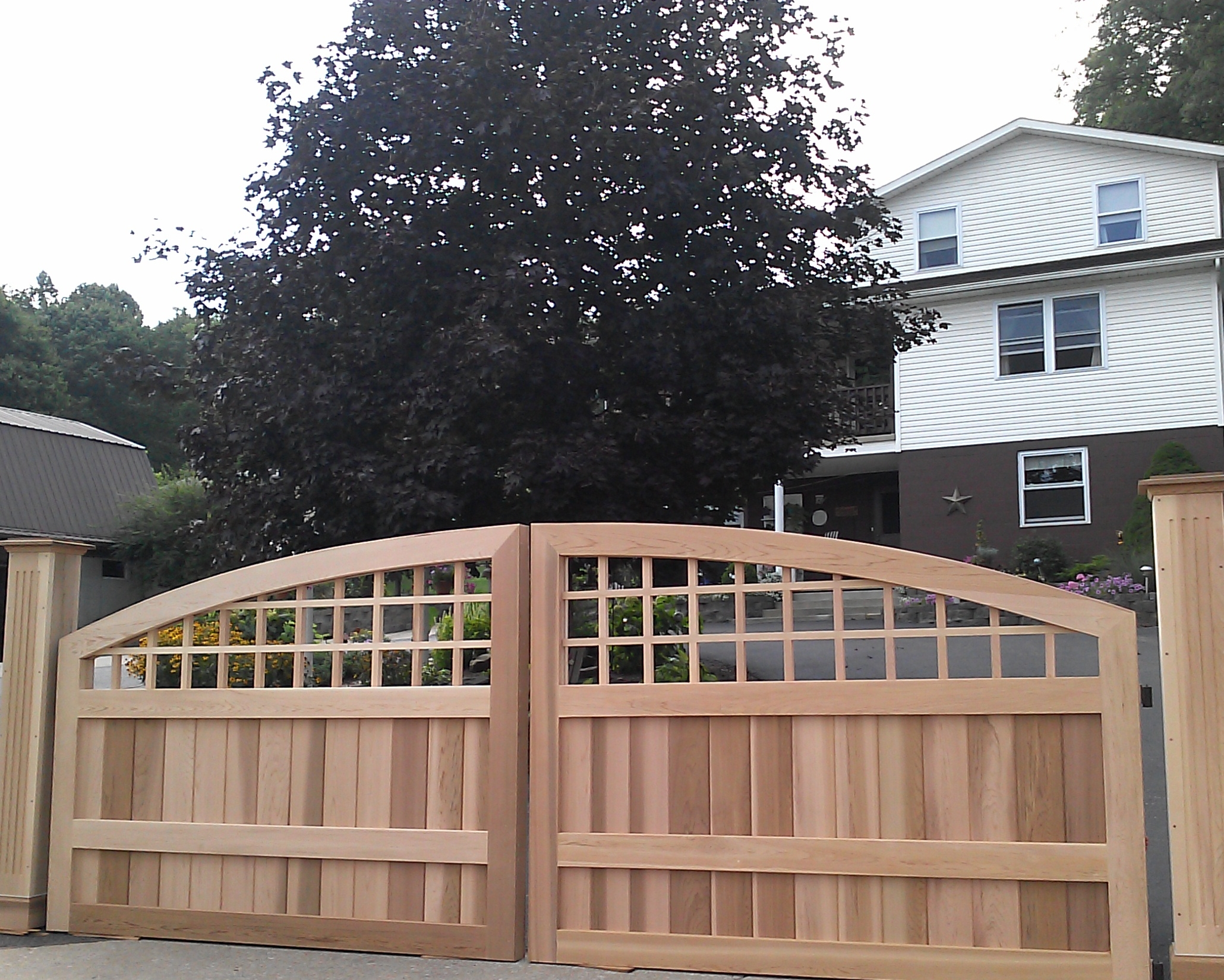 The Most Popular Driveway Gate of 2013
