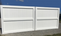 Now available: All Azek custom driveway gates