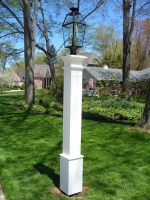 Fluted 8x8 Lantern Post Sleeve