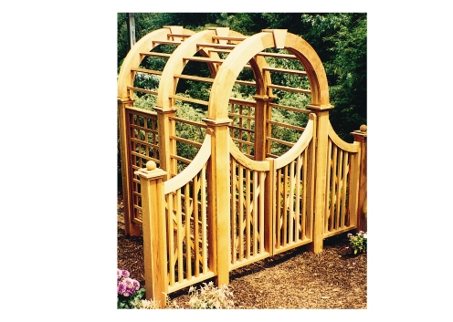 Arbor Entry Gate - Spindle Design