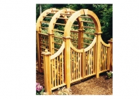 Spindle Design Arbor Entry Gate