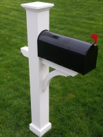 Azek Mailbox Post Sleeves