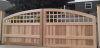 South Hampton Design Wooden Driveway Gate